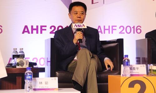 万豪国际集团中国地区业务发展高级副总裁    林聪图片